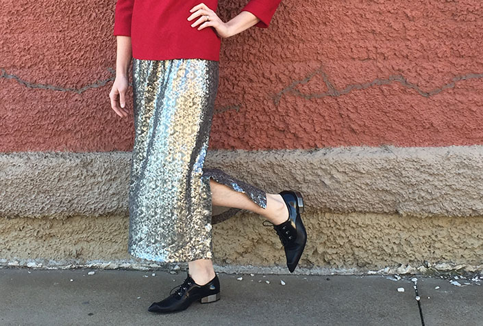 Sequin Skirt Inspiration