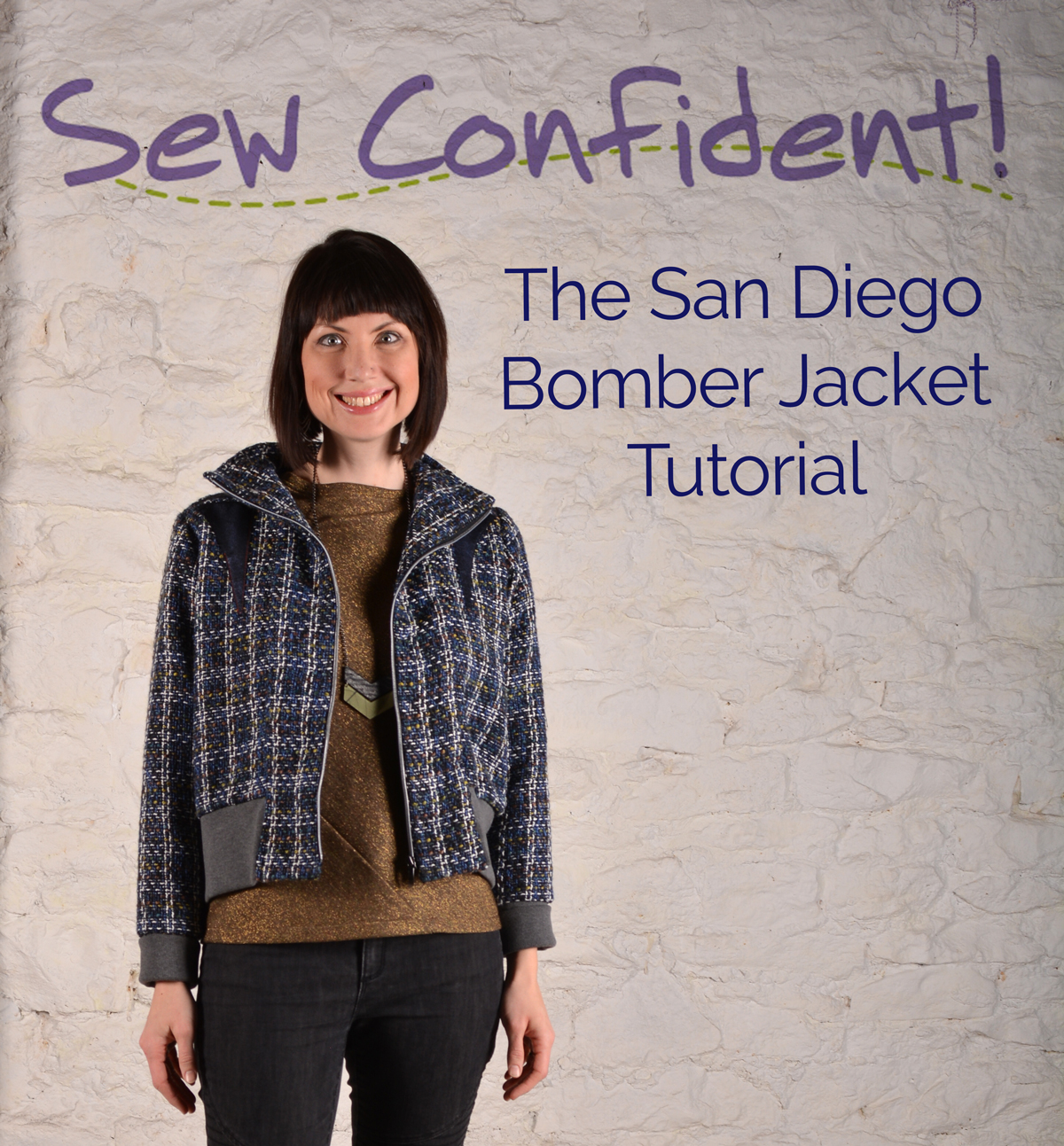 January Sew Confident! The San Diego Bomber