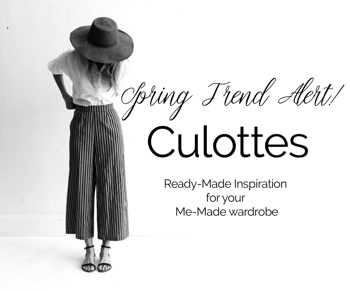 Spring Trends: Wide-Leg Cropped Pants