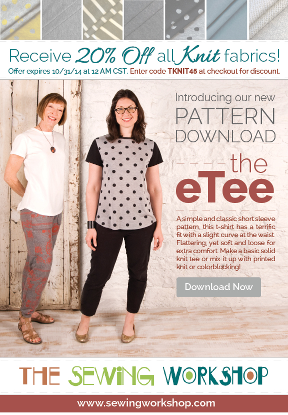 Introducing The Etee The Sewing Workshop