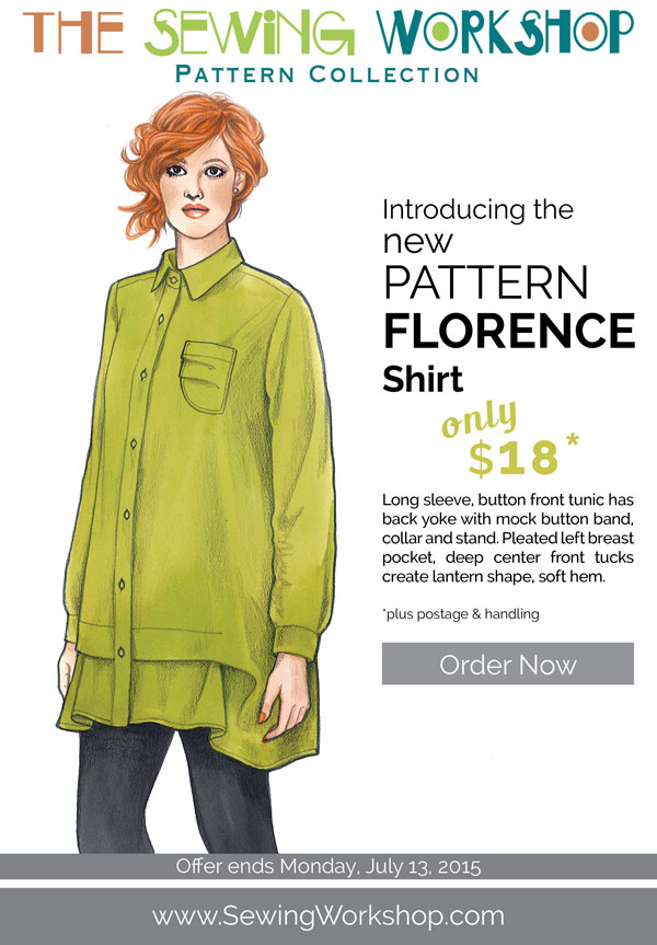 Pattern Debut Florence Shirt The Sewing Workshop