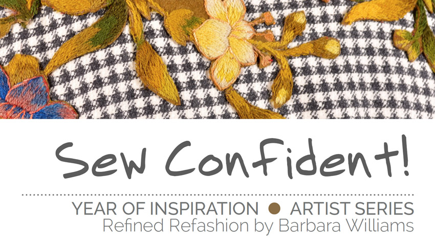 Sew Confident! March 2016
