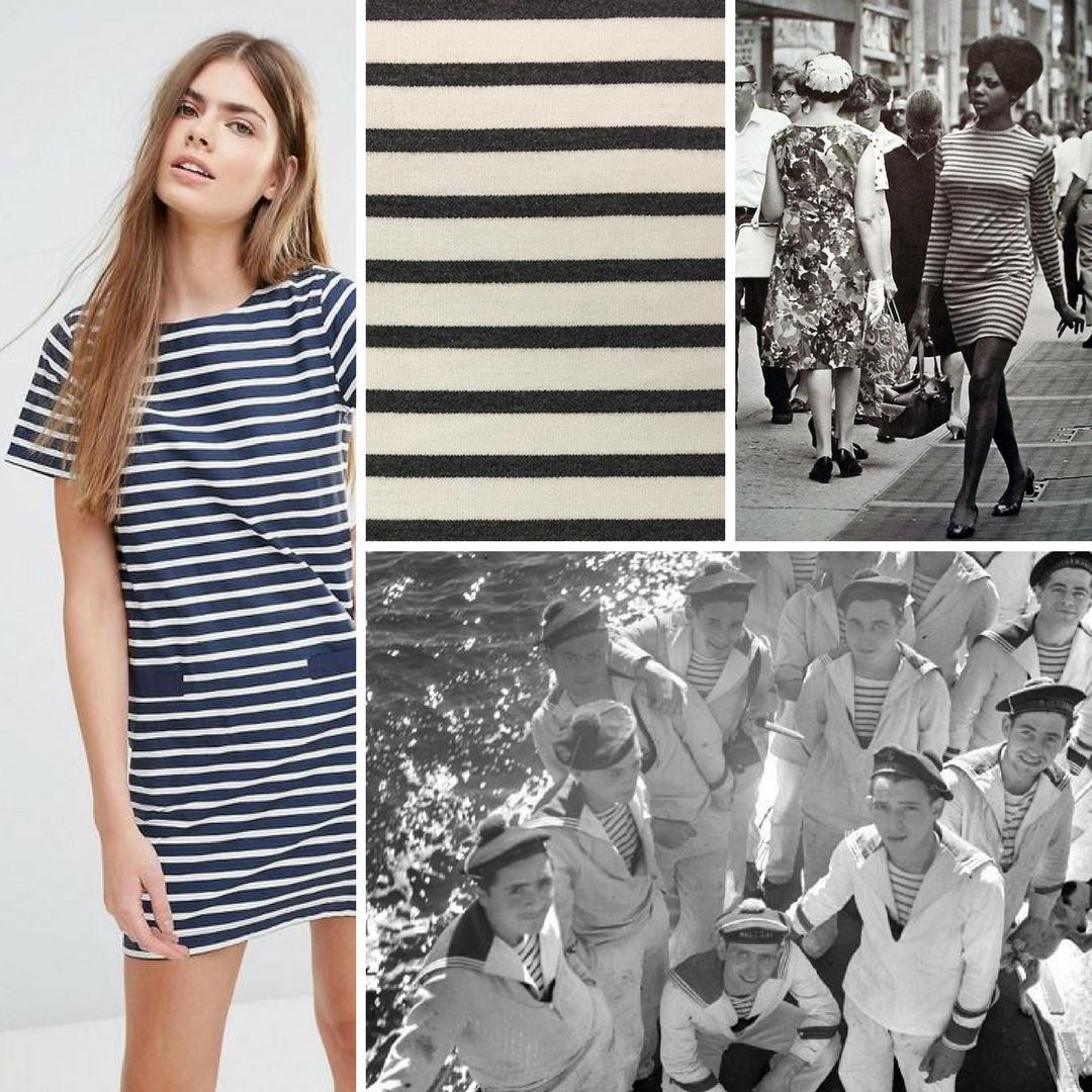 Breton Stripe eTee Dress