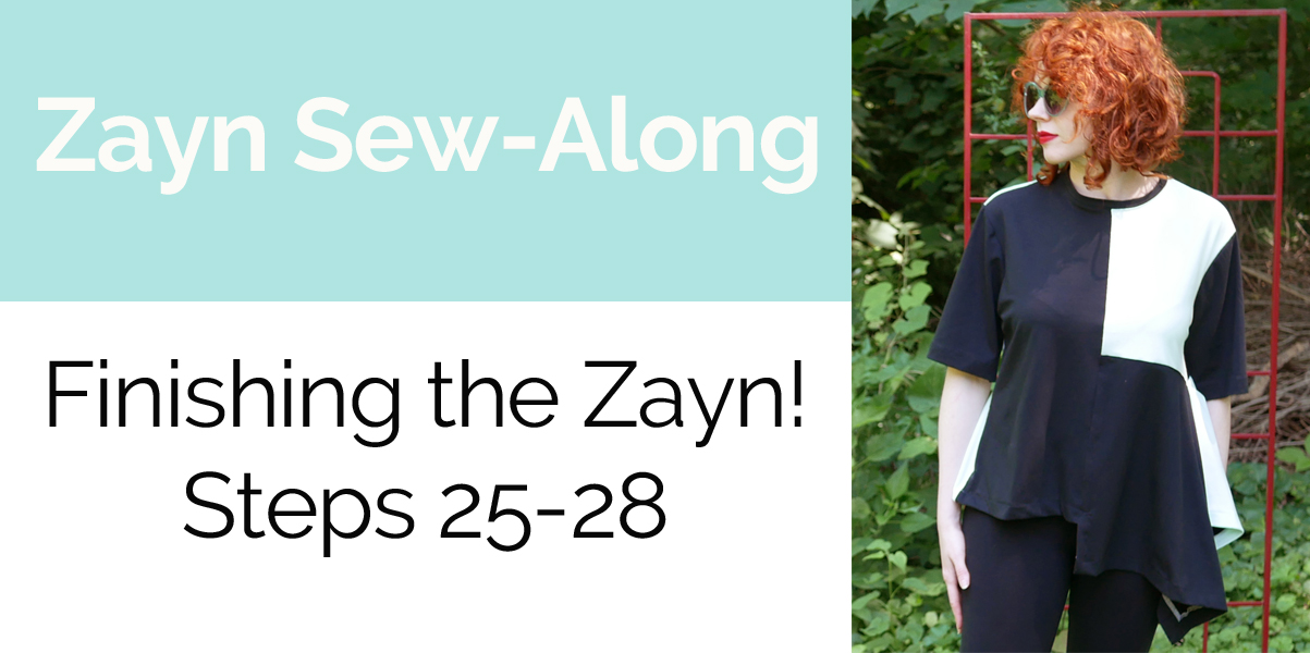 Zayn Shirt Sew-Along Part 7