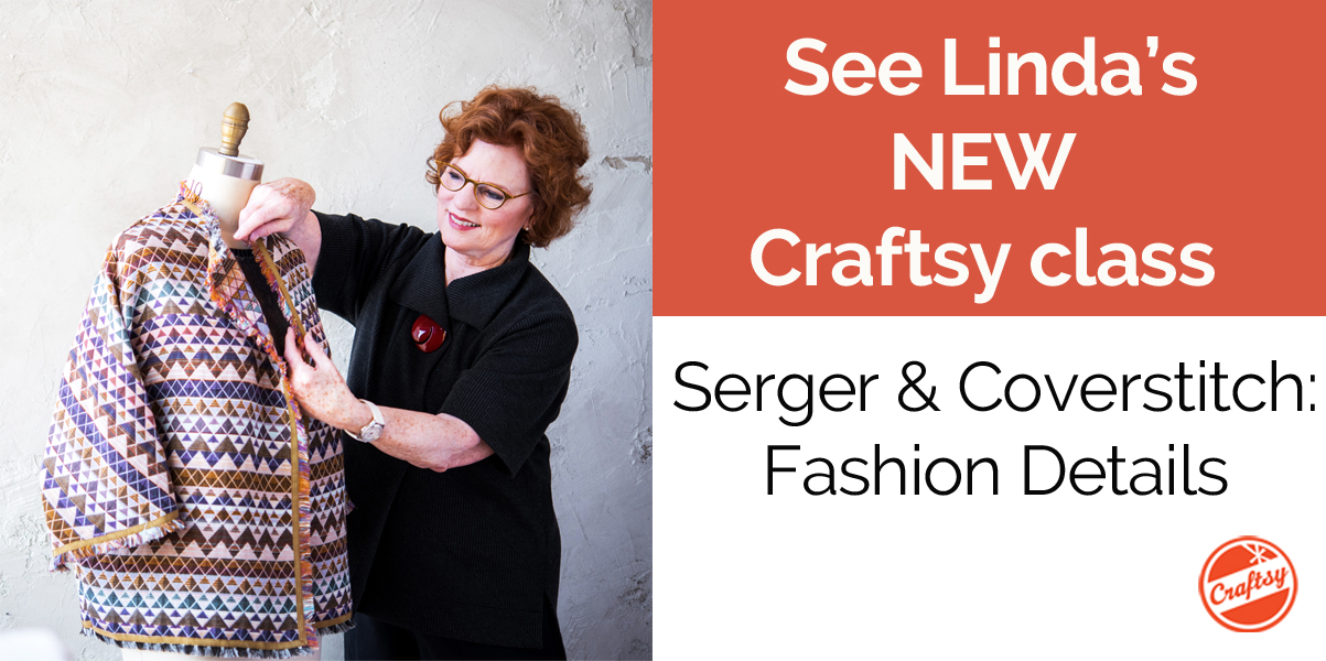 Get 50% off Linda's NEW Craftsy class!
