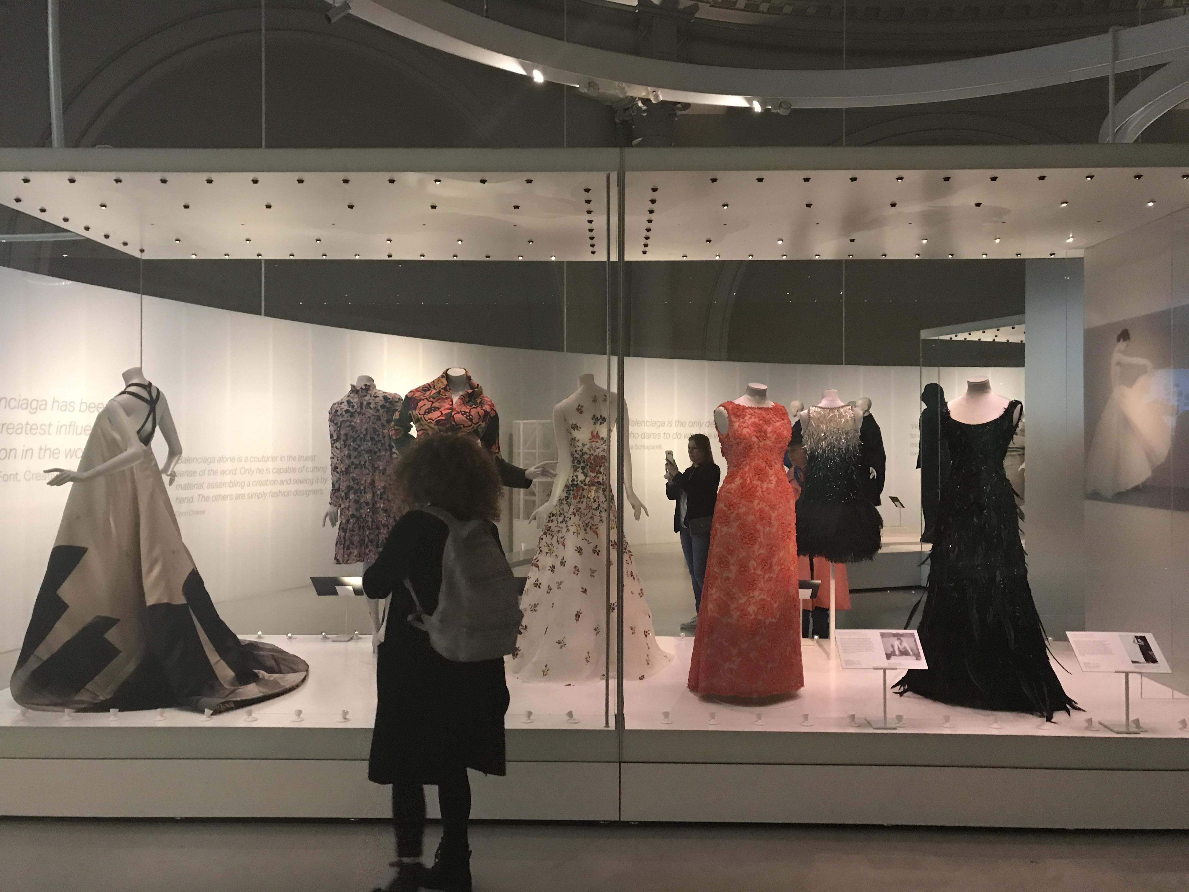 A day in London Life: A look at the Balenciaga Exhibit