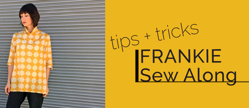 Frankie Shirt Sew Along Part Two: Cutting and Marking