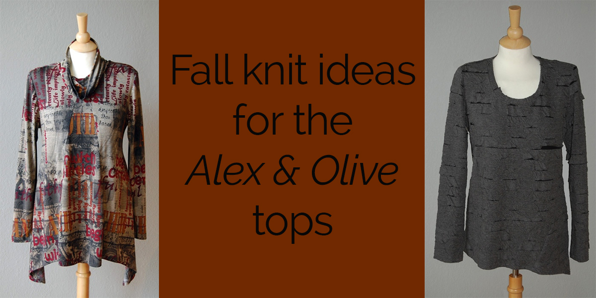 Fall Knits Ideas for the Alex and Olive Tops