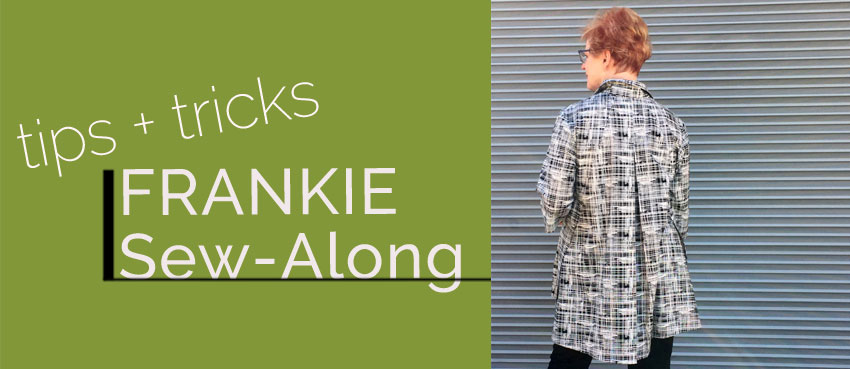 Frankie Sew Along Part Four: Sewing the Back